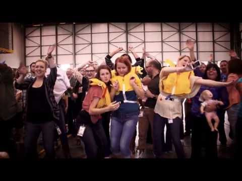 Twice per year, in November and May, we share a portion of our profit with our employees. We make a fun video to play at our profit share party, and this is just one of a long list of videos weve made over the past few years. We hope you enjoy!  Want to become an owner? Apply for a job online at http://westjet.com/guest/en/jobs.shtml