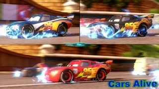 Cars 2: The video Game - 3 Lightning McQueen`s race on Casino Tour