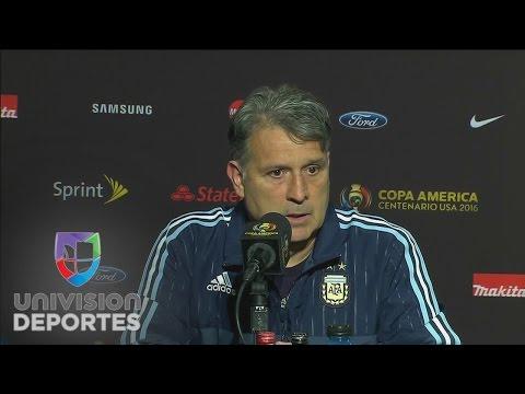 Gerardo Martino: 'El orden defensivo de Bolivia evitó la goleada'