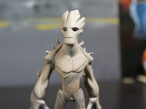 DISNEY INFINITY 2 MARVEL SUPERHEROES - GROOT UNBOXING!!!