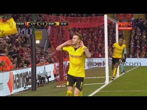 Marco Reus vs Liverpool (Away) 14/4/2016 HD 720p 50fps