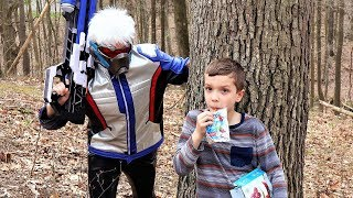 Nerf War : PBT Squad & Soldier 76 vs The Reaper (Overwatch In Real Life)