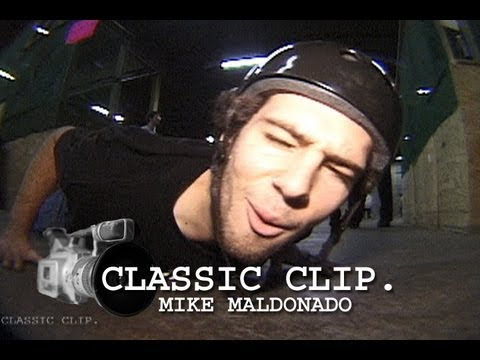 Mike Maldonado You're Watching 411 Skateboard Video Magazine Station ID