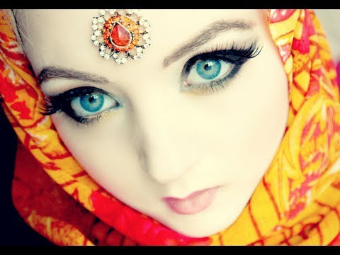 Arabic Doll Makeup