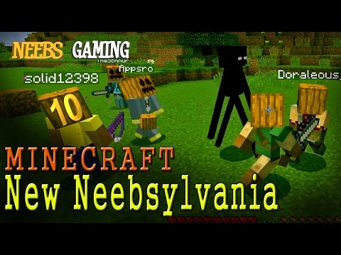 MINECRAFT: Pumpkin Party - New Neebsylvania 10
