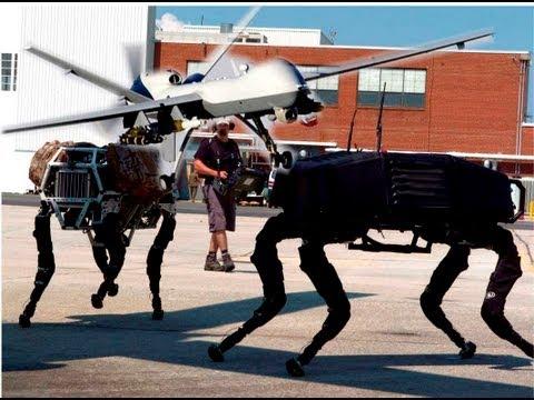 Drones e Robôs da Nova Ordem Mundial