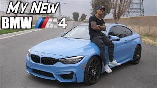 My new 2018 BMW M4! (Competition Package) |Walk-around