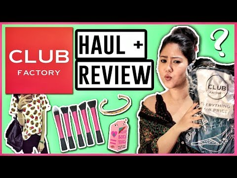 Club Factory Fashion Haul & Review | Online Shopping in India