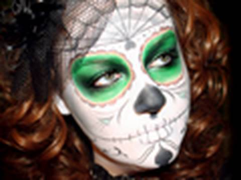 Halloween Tutorial #3 - Dia de los Muertos Video