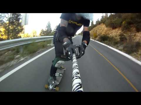 Longboarding- Raw run Monterreal