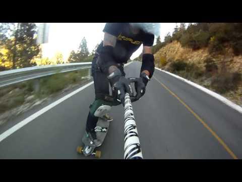 Longboarding- Raw run Monterreal