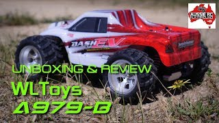 Unboxing/Review: WLToys A979-B 1:18 scale MT