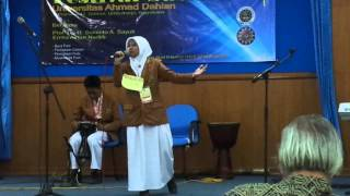 Juara 1 Musikalisasi Puisi Se Jawa Tengah Amp Diy