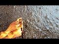 Лак из пенопласта красим бетонный пол