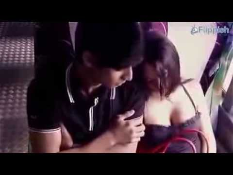 Sexy cheat girl on the bus must watch