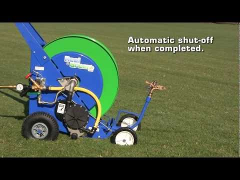 ReelGreen Model RG25 Traveling Sprinkler