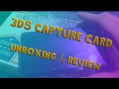 3DS Capture Card|Unboxing/Review!