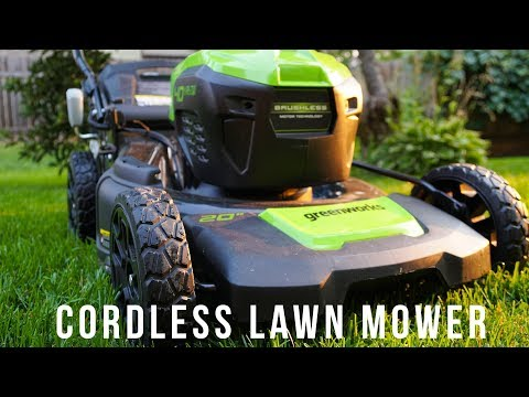 Greenworks Cordless Electric Lawn Mower Review