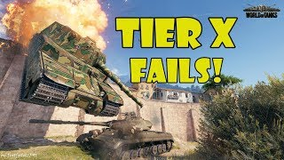 World of Tanks - Funny Moments | TIER X FAILS! (WoT, May 2018)