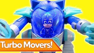 PJ Masks Creations 💜 TURBO MOVERS | Play with PJ Masks