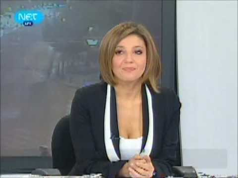 Greek TV ERT Morning Show Sexy Hostesses