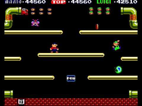 Mario Bros arcade 2 player Netplay (17 phases)