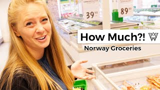 How much do groceries cost in Norway?!