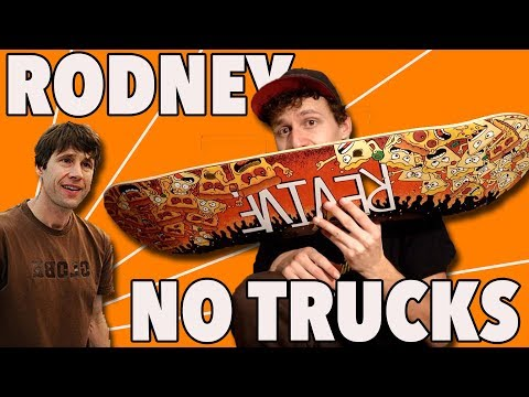 Legendary Rodney Mullen Trick Without Trucks