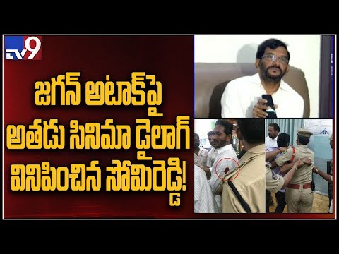 AP Minister Somireddy blames Governor for his involvement in Jagan attack case - TV9