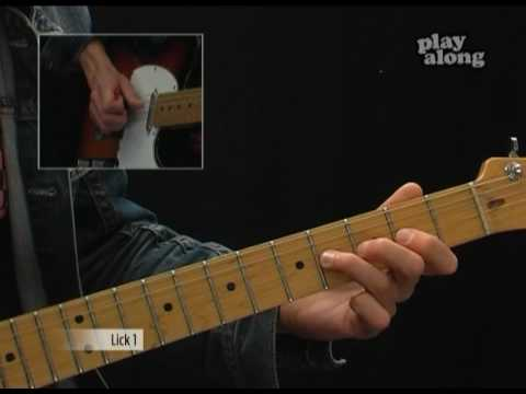 Lesson Guitar - Blues Rock Ballad
