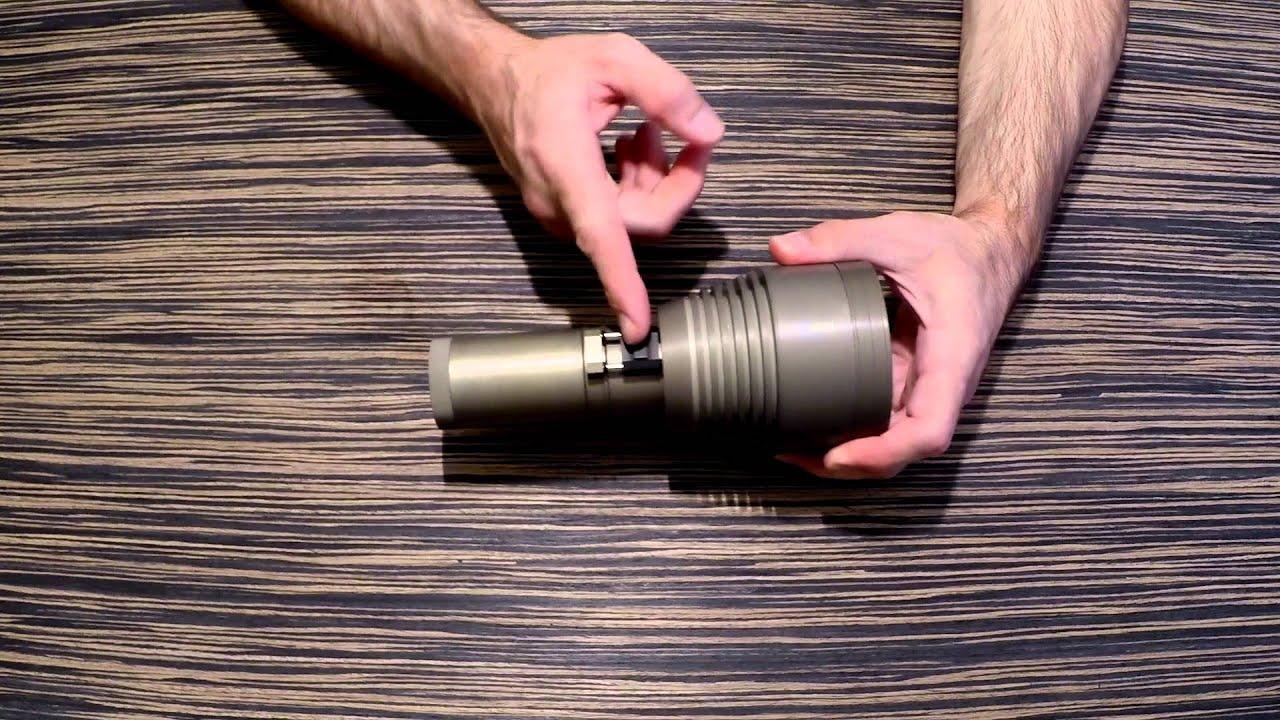 Как сделать корпус для фонаря