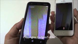 Nokia Lumia 620 Skype Video Call Test - Front Camera Video Quality Review
