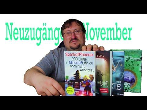 WTF Minecraft??? Bücher Im Laden Geschenkt?? Neuzugänge November 2016