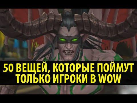 50 Вещей, Которые поймут только игроки в World of Warcraft!