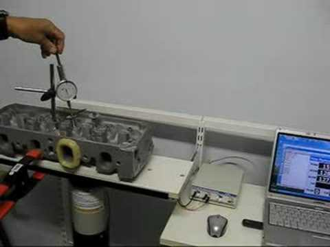 Cylinder Head Flow Test