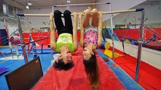 GIRLFRIEND vs. BOYFRIEND GYMNASTICS!