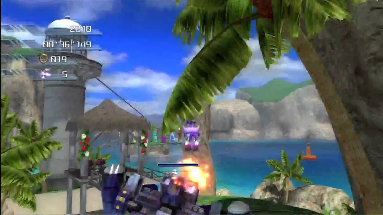 Sonic The Hedgehog Tornado Sonic The Hedgehog 2006 Wave