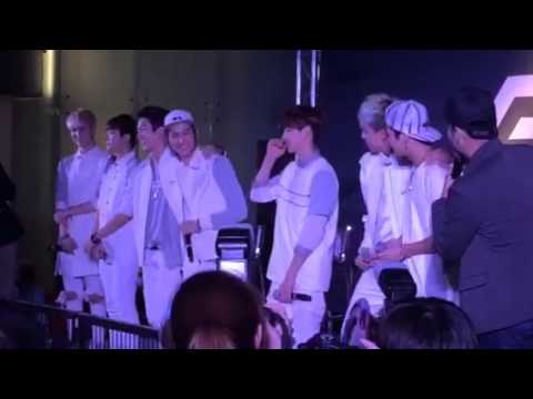 GOT 7 Speak Thai @ Siam Paragon