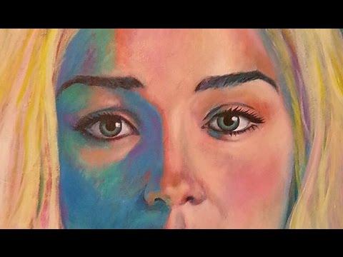 Game of Thrones Daenerys Targaryen Time Lapse Acrylic Painting by Paul Iglesias