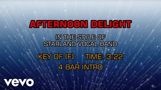 Starland Vocal Band Afternoon Delight Karaoke