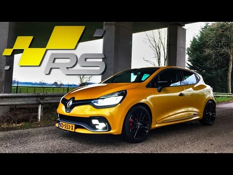 Renault Clio RS TROPHY Review by AutoTopNL(English Subtitles)