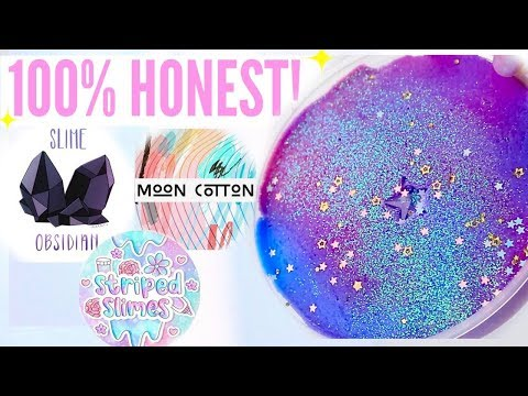 100% HONEST Famous + Underrated Instagram Slime Shop Review +GIVEAWAY! US/UK Slime Package Unboxing