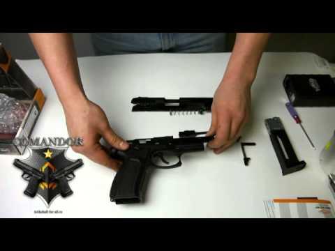 Страйкбольный пистолет Ярыгина