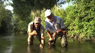 Fly fishing on  Sangro and Zittola-Italy