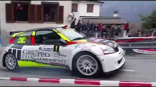 Rally 2 Laghi 2018 ps 1 Montecrestese inversione