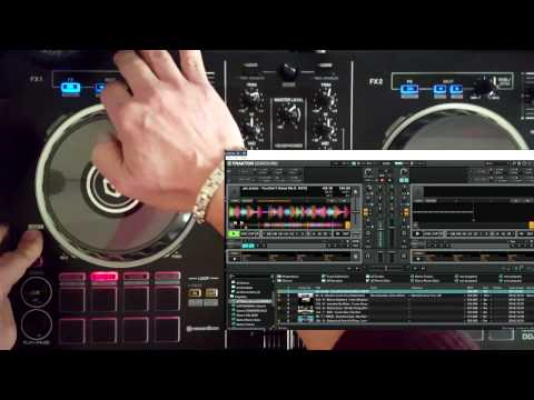 Fully best Traktor mapping working with DDJ-RB (demonstration) ALL FUNCTIONS