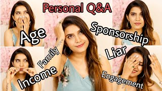 Very Personal Q&A | Age, YouTube, Engagement, Income, Sponsorship & Much More | Super Style Tips
