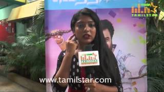 Varsha At Vetrivel Team Interview