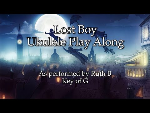 Lost Boy Ukulele Play Along