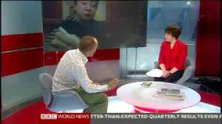 Michael Booth on BBC World July 16, Part I